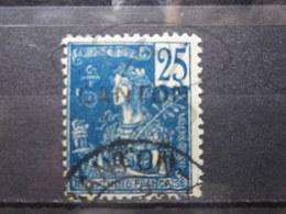 VEND BEAU TIMBRE DE CANTON N° 40 , BLEU FONCE !!! - Canton (1901-1922)