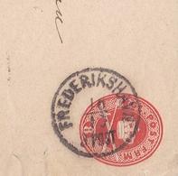 Lettre Frederikshavn Danemark Denmark Dänemark Danmark Entier Postal - Postpaketten