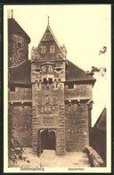 Vertreterkarte Heidelberg, Niederlage Der Strassburger Schirmfabrik Franck & Cie, Hauptstr. 18, Haupttor Hohkönigsburg - Old Paper