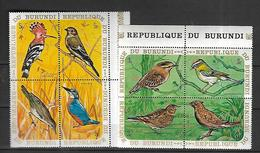 Burundi  Oiseaux 1970  Cat Yt   Lot  N** MNH - 1970-79: Neufs