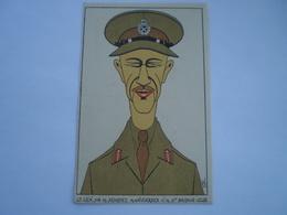 Militair - WW2 // Caricature // Lt.Gen.Sir.M.Dempsey // NL Card // 19?? - Personen