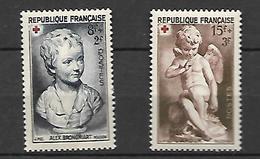 France  Croix Rouge   1950    Cat Yt N° 876  Et 877  N**    MNH   Série Complète - Frankrijk