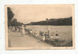 Cp , 89 , PONT SUR YONNE , La Baignade , Voyagée , Ed. Petit - Pont Sur Yonne