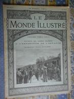 LE MONDE ILLUSTRE 27/04/1901 BELGIQUE ROI BELGE ANTIBES PROCES VERA GELO FABRICATION ALLUMETTES EXPOSITION ENFANCE CHINE - Journaux - Quotidiens