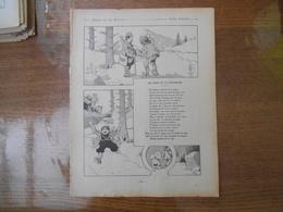 FABLES DE LA FONTAINE 1906 LE LION ET LE CHASSEUR, PHEBUS ET BOREE - Rabier, B.