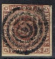 DO 7256 DENEMARKEN GESTEMPELD YVERT NR 2a ZIE SCAN - 1851-63 (Frederik VII)