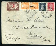 Turquie - Enveloppe De Istambul Pour La France En 1936 - Briefe U. Dokumente