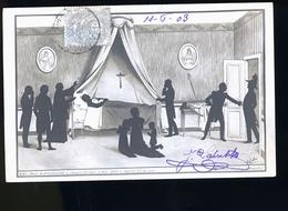 NAPOLEON RARE SRIE DE CARTE PHOTO OMBRE CHINOISE   STE HELENE - Personnages Historiques