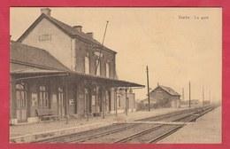 Strée - La Gare ( Voir Verso ) - Beaumont