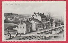Cour-s / Heure - La Gare ... Passage à Niveau ( Voir Verso ) - Ham-sur-Heure-Nalinnes