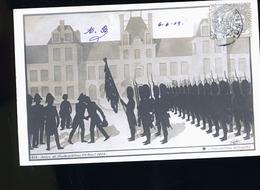 NAPOLEON RARE SRIE DE CARTE PHOTO OMBRE CHINOISE   DRAPEAUX - Personnages Historiques