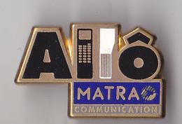PIN'S THEME FRANCE TELECOM  ALLO MATRA - France Telecom