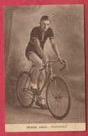 Vaudignies - Coureur Cycliste Albert Désiré - 1940 ( Voir Verso ) - Chièvres