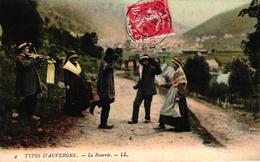 TYPES D'AUVERGNE -63- LA BOURREE - Other Municipalities