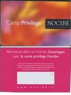 NOCIBE PARFUMS CARTE De FIDELITE NOMINAIVE NEUVE NON REMPLIE - France