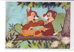 DISNEY - Chip & Chop, 3D, Toppan - Disney