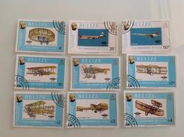 Série 75eme Anniversaire De L'ICAO. - Belize (1973-...)