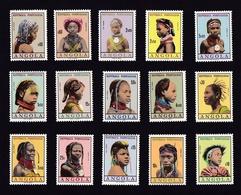 AngolaXxCoiffes / Coiffures AngolaisesY&T420 à 43515,00 €Sauf 428 - Angola