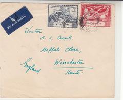 Cyprus / Airmail / 1949 U.P.U. - Timbres