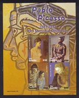 Gambie2004XxNus Féminins - Peinture - PicassoY&T4117 à 4120 - Gambie (1965-...)