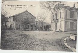 13  Puy Sainte Reparade  Place De La Mairie - Autres Communes