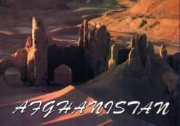 Afghanistan Postcard Ruins At Shar Gholghola - Afghanistan