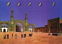Afghanistan Postcard Great Mosque Of Herat - Afghanistan
