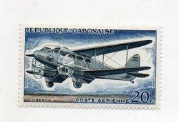 GABON - 1962 - Francobollo Tematica Trasporti - Aerei - Nuovo - (FDC10973) - Gabon (1960-...)