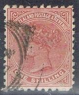 DO 6439 NEW ZEELAND  GESTEMPELD  YVERT NR 66 ZIE SCAN - 1855-1907 Crown Colony