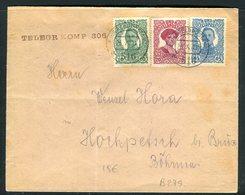 Autriche - Hongrie - Enveloppe En 1918 , Affranchissement Plaisant - 1850-1918 Imperium