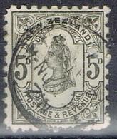 DO 6440 NEW ZEELAND  GESTEMPELD  YVERT NR 69 ZIE SCAN - 1855-1907 Crown Colony