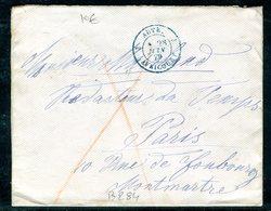 Autriche - Enveloppe Pour La France En 1879 , Affranchissement Au Verso - 1850-1918 Imperium