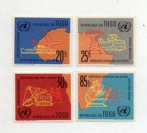 TOGO -1961 - Lotto 4 Francobolli Tematica Trasporti - Serie Completa - Nuovi - (FDC10977) - Togo (1960-...)