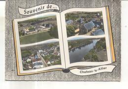 Souvenir De Chateau Sur Allier (carte Multivues) - Otros Municipios