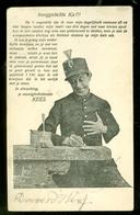 NEDERLAND ANSICHTKAART * NVPH 51 * Gelopen In 1904 Van HARLINGEN Naar AMSTERDAM * FANTASIE (3888c) - Andere
