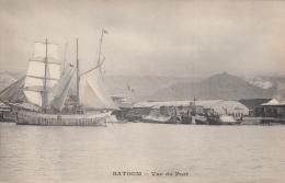 AK - Georgien - Batoum - Segelboot Am Hafen Der Hauptstadt - 1900 - Georgien