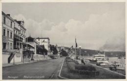 AK - Reinland - Pfalz - Beflaggte Rheinpromenade - 1943 - Remagen