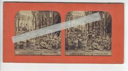 PHOTO STEREO Circa 1865 BICHE AUX BOIS LA PRINCESSE NOIRE /FREE SHIPPING R - Stereoscoop