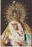 España. 1964. Tarjeta Primer Día Emisión. Virgen De La Macarena. - Tarjetas Máxima