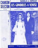 P 8100 - Sheila Et Ringo    Les Gondoles à Venise - Music & Instruments