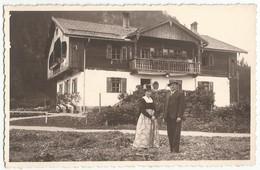 CPA Photo WALCHSEE (Tyrol) - Monsieur Et Madame SCHARNER ?? En Costume Folklorique Devant Leur Maison - Kufstein