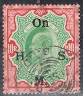 DO 6460 INDIA GESTEMPELD  YVERT SERVICE NR 49 ZIE SCAN - India (...-1947)