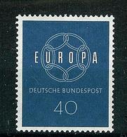 Bund 1959  Mi.-Nr. 321, Europa   ** - Nuevos