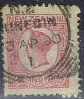 DO 6462 NEW ZEELAND GESTEMPELD  YVERT NR 37a ZIE SCAN - Used Stamps