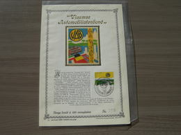 BELG.1973 1689 Tirage Limité à 400 Ex. Soie - 1971-80