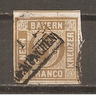 Baviera. Nº Yvert  12  (usado) (o) - Bavaria