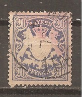 Baviera. Nº Yvert  42 (usado) (o) - Bavaria