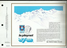 CEF . 68éme TOUR DE FRANCE CYCLISTE . 15 JUILLET 1981 . LA FERRIERE . - FDC