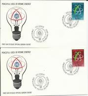 Naciones Unidas 1977. Oficina De Ginebra. Uso Pacífico De La Energía Atómica. - Otros - Europa