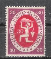 """Reich N° 109 Neuf **  Michel 110c Signe """"c"""" Au Dos - Allemagne"""